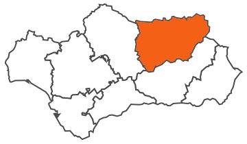 Asociaciones de FEDE en la provincia de Jaén