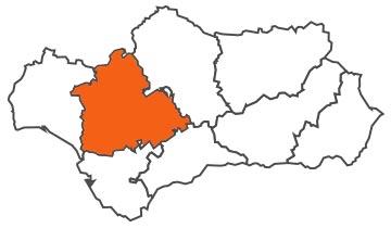 Asociaciones de FEDE en la provincia de Sevilla