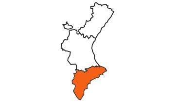 Asociaciones de FEDE en la provincia de Alicante