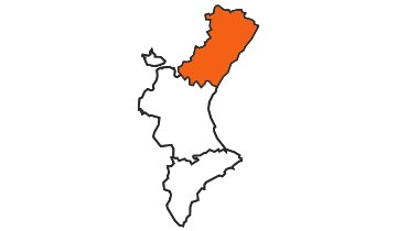 Asociaciones de FEDE en la provincia de Castellón