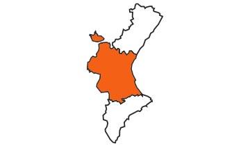 Asociaciones de FEDE en la provincia de Valencia