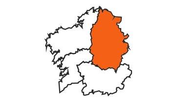Asociaciones de FEDE en la provincia de A Lugo