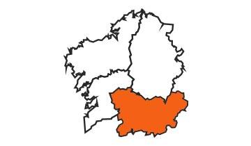 Asociaciones de FEDE en la provincia de Ourense