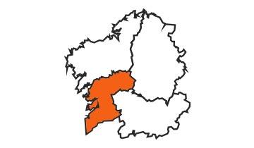 Asociaciones de FEDE en la provincia de Pontevedra