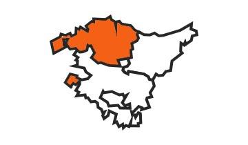 Asociaciones de FEDE en la provincia de Vizcaya