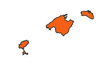 Asociaciones de FEDE en la provincia de Islas Baleares