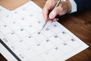 calendario para la implantacion del sistema flash