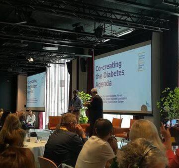 liderazgo y compromiso con personas con diabetes