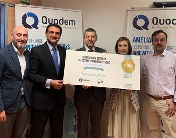 quodem dona su premio a fede